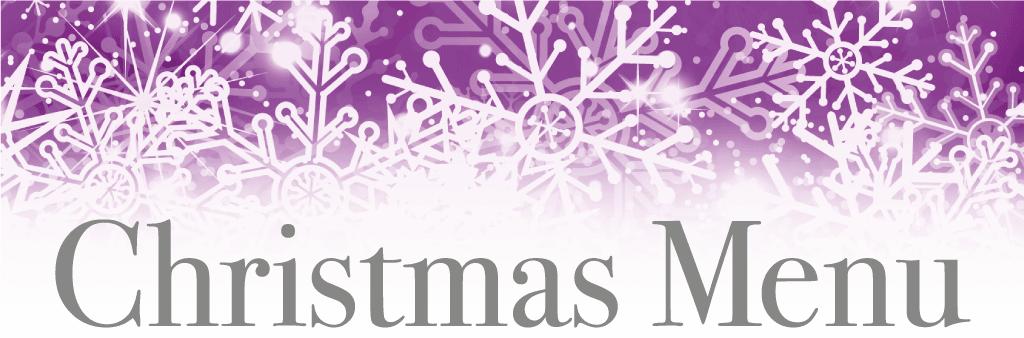 Christmas Menu at Porters